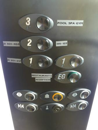 Hotel An der Wasserburg: Fahrstuhl