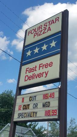 Fourstar Pizza & Fresh-Baked Subs