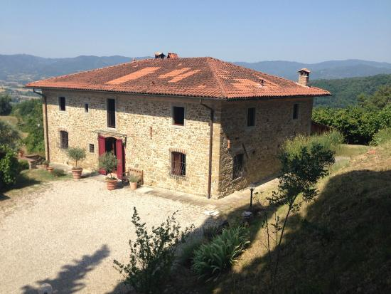 Vicchio, Italien: Widok z tarasu słonecznego