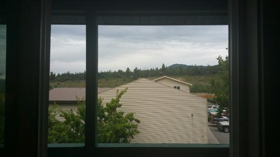 """อัลไพน์, ไวโอมิง: """"Mountain view room"""""""
