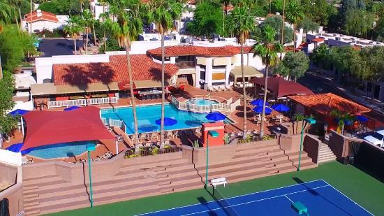 Scottsdale Camelback Resort: Aerial