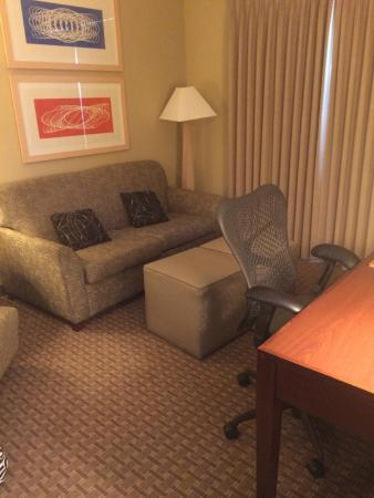 Homewood Suites by Hilton Plano-Richardson : Living Room in Suite