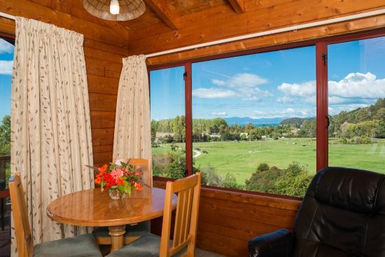 Abel Tasman Ocean View Chalets: One bedroom chalet