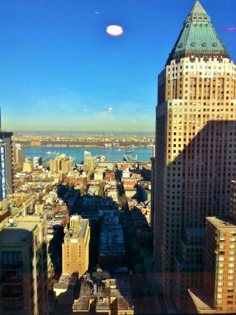 46th floor corridor view photo de crowne plaza times for 140 broadway 46th floor new york ny 10005
