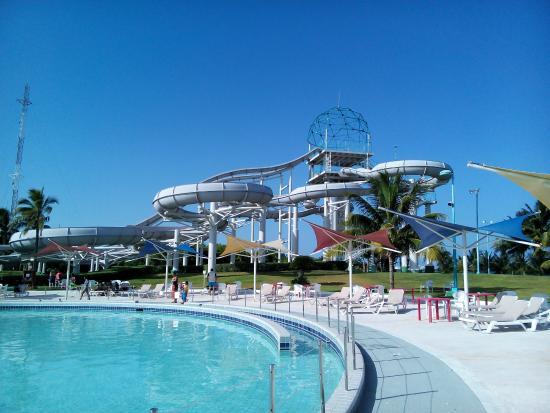 Wet'n Wild Cancun : vue sur le complexe