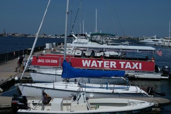 Charleston Water Taxi: Taking off from Patriots Point, Mount Pleasant