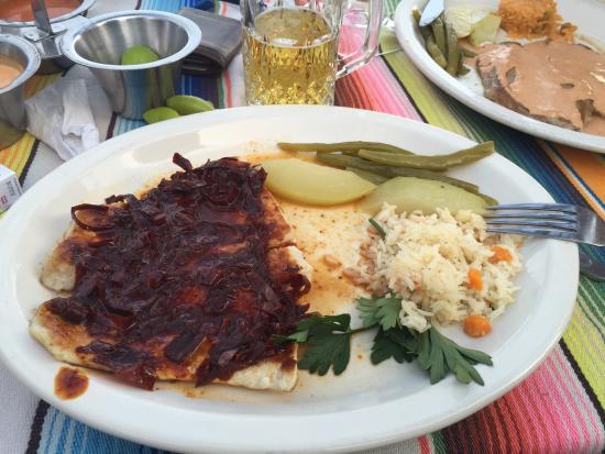 Restaurante Los Crotos: Filete al guajillo!!!
