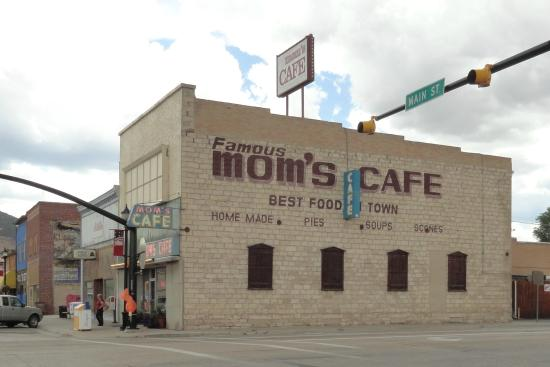 Mom's Cafe: Right on the crossroads of the main street, you can't miss it.