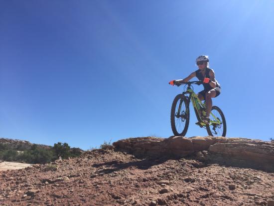 Solfun Mountain Biking : Moab mountain biking