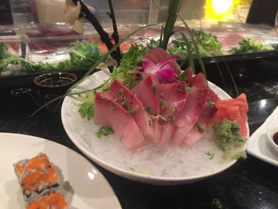 Kyoto Sushi: Their presentations are almost too pretty to eat.
