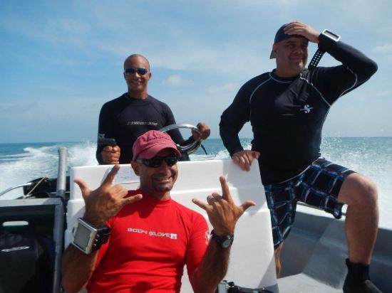 Managua Department, نيكاراجوا: Great EXPERIENCE dive trip to little corn island Nicaragua!!! Fabio and his team organized a fan