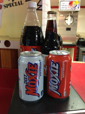 Pretzel Hut : They even serve Moxie!