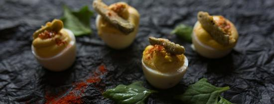 The Dunhill Hotel : The Asbury Deviled Eggs