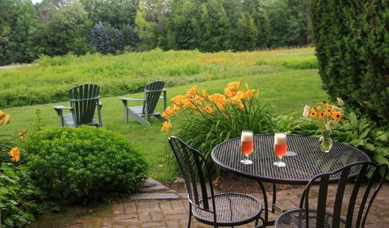 West Chesterfield, Nueva Hampshire: Enjoy Our Lovely Patio