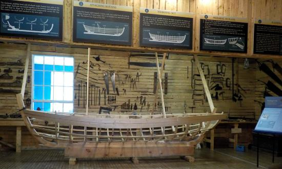 Boat Museum Inside Picture Of Wooden Boat Museum Of Newfoundland