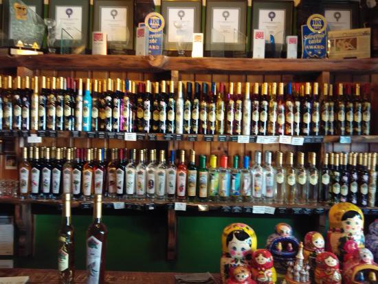 Tamborine Mountain Distillery: In the shop