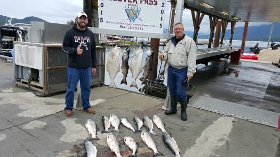 Clover Pass Resort: First Day's Catch