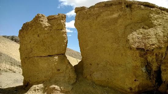 Ocotillo, Californien: скалы из песчанника