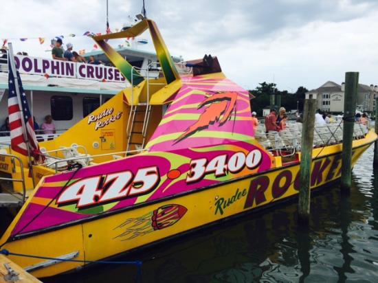 Rudee Rocket The Boat