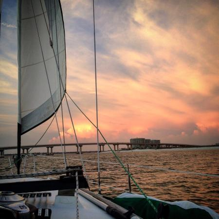 Orange Beach Sailing Charters And Sunset Cruises Thanks Capt Randy This Was Our