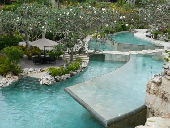 River Pool Located At The Ayana Villas Picture Of RIMBA - Where is bali located