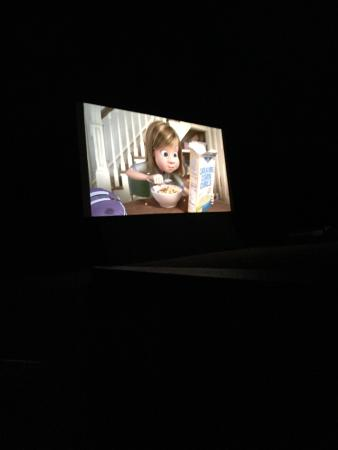 Riverdale, UT: Inside out movie at drive in theater.