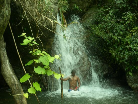 Jah B's Guesthouse: The Mini Falls