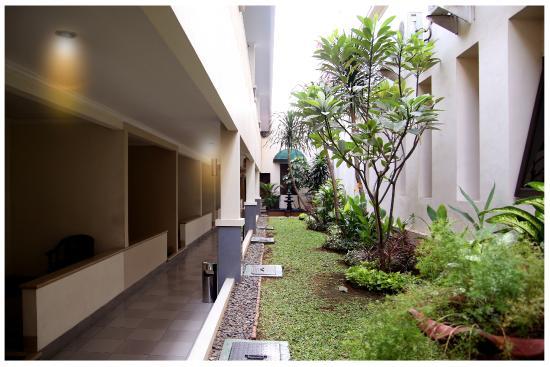 Sriwijaya Hotel: Garden