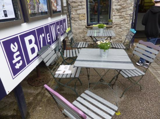 Kendal, UK: out door seating