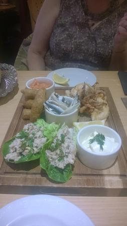Moules A Go Go -: sharing platter
