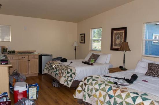 Bigfork, Montana: Bedroom of the 'Bali Room'