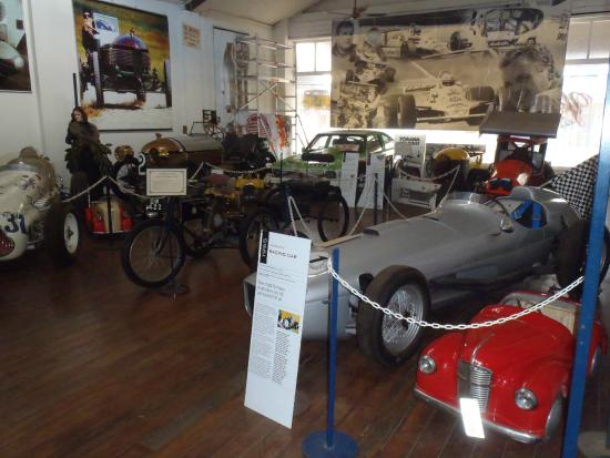 York Motor Museum: Motor racing room
