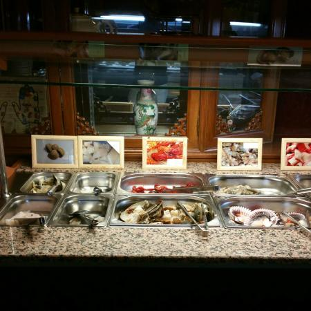 China Restaurant: Hotpot meat selection