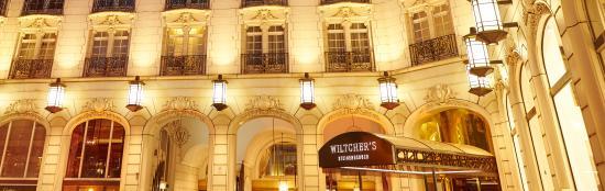Steigenberger Wiltcher's: Façade
