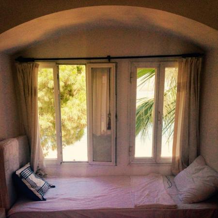 Omar Hotel: Oda manzarası