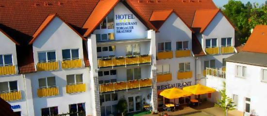 Hotel Torgauer Brauhof: Aussenansicht Hotel