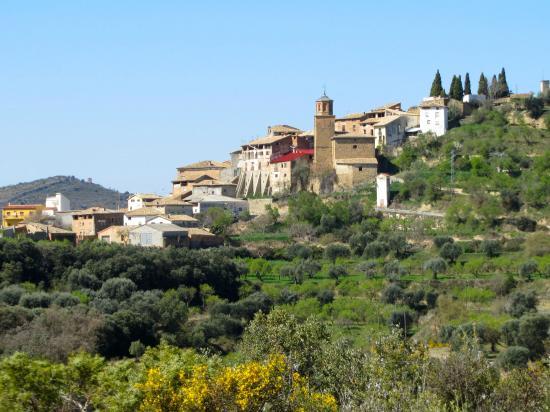Coscojuela de Fantova, สเปน: Vista lateral de la iglesia