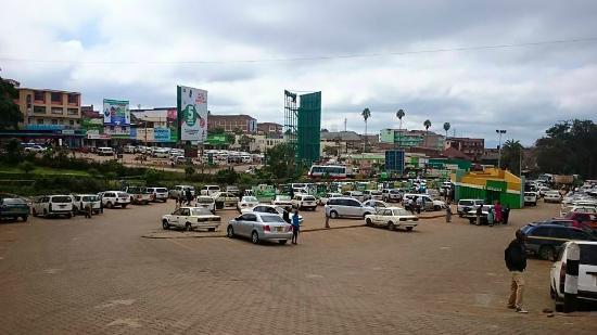 Meru Town, Kenia: Meru Taxi Stage.