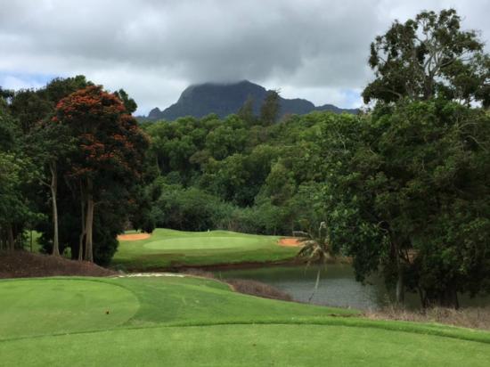 Puakea Golf Course: Par 3, 6th hole
