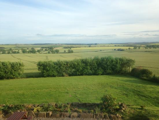 Kescoweth Bed and Breakfast: Room with a view