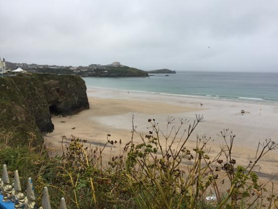 Blue Haven Guest House: Newquay seafront 20 minute walk from Blue haven