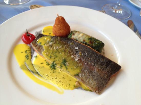 Hotel Beau Rivage: Hauptgericht