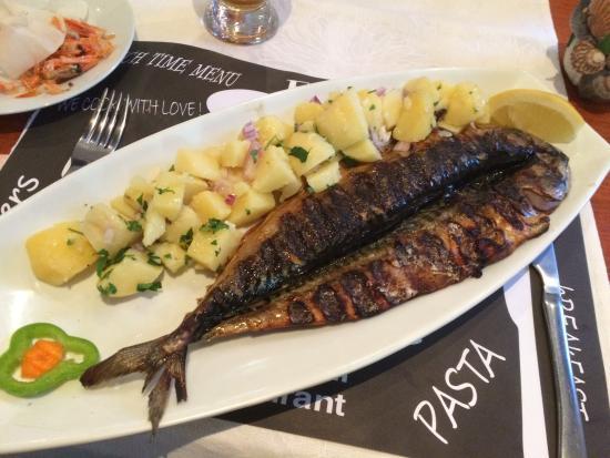 Casa Del Mare: Скумбрия с картошкой