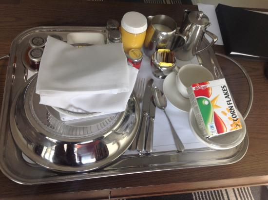 Leave Room Service Tray In Hall