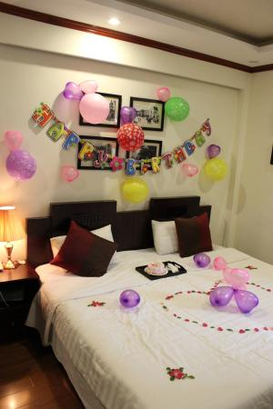 Paradise Boutique Hotel: Birthday surprise