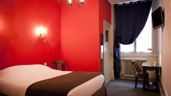 Hotel Bayard Bellecour : Chambre DE CHARME