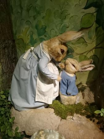 Bowness-on-Windermere, UK: Peter Rabbit and his Mummy