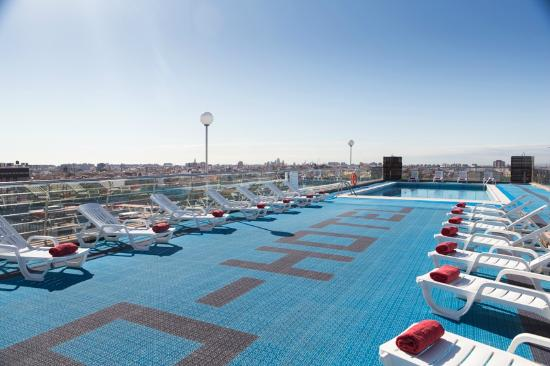 Expo hotel valencia valence espagne voir les tarifs for Piscine valencia
