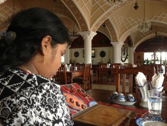 Inside Sufi Restaurant