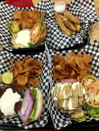 Village Burger: Great Burgers and Fried Pickles
